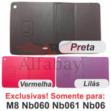 Capa Case Exclusiva Tablet Multilaser M8 Nb060 Nb061 Nb062