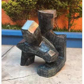 Lrc Escultura Duo Pareja Hombre Y Mujer, Arte En Bronce