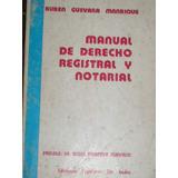 Manual De Derecho Notarial Y Registral