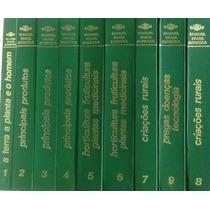 Livro Manual Brasil Agricola 9 Vol -conservadíssimo Icone