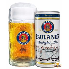 Kit Cerveja Paulaner - Lata + Caneca 1 Litro Pronta Entrega!