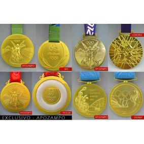 Medalha Rio 2016, Londres 12, Pequim 08 E Sydney 00 -oficial
