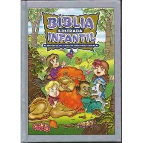 Bíblia Ilustrada Infantil Capa Dura Ed. Geográfica