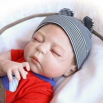 Bebe Reborn Menino Reborn Corpo Vinil Silicone Realista 57cm