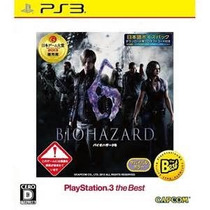 Biohazard 6 (resident Evil) Ps3 Edicion Day Cero