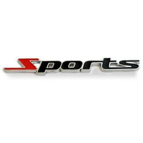 Emblema Sports Chevrolet S10 Onix Cruze Celta Corsa Prisma