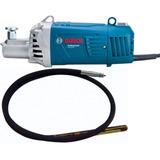 Vibrador De Contreto 2200w + Manguera Bosch Gvc 22 Ex