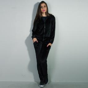 Conjunto Agasalho Plush Feminino Calça E Blusa De Frio