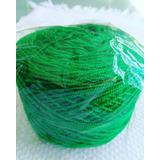 Hilo Crochet Colombiano 50 Gramos Verde Navidad 252