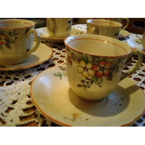 Juego De Café De Porcelana Japonesa St.