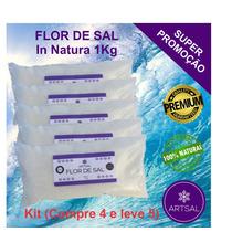 Flor De Sal Artsal (kit - Pague 4kg E Leve 5kg)
