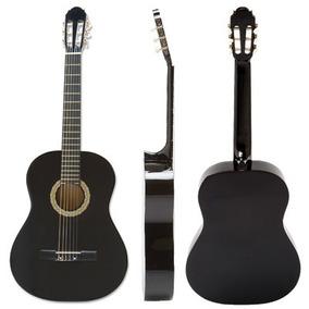 Guitarra Criolla Clásica Negra Y Colores Musikoz Store Gc02