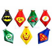 Gravata Petshop Super Heróis 20-unidades +brinde