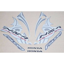 Kit Adesivos Honda Nx4 Falcon 2006 Prata