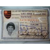 Carteira Oficial De Sócio Do Flamengo E Revista Fla 21