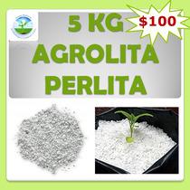 Agrolita Perlita 5kg, Germinación, Sustrato, Hidroponia