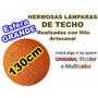 Lamparas Grandes De Hilo Artesanal, De Techo 130cm