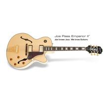 Guitarra Epiphone Emperor Joe Pass 2 Semi Acústica Nat **