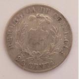Moneda De Chile De 20 Centavos De 1879