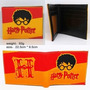 Billetera Harry Potter Exterior De Goma Int. De Cuero Eco