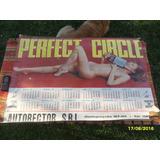 Antiguo Almanaque Mujer Desnuda Erótico Taller Perfect Circl