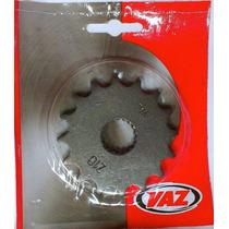 Pinhão Vaz 16 Dentes P/ Suzuki Intruder E Yes 125 + Velfinal