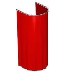 Provador Arco + Cortina Em Diversas Cores Kit 1 Peça