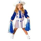 Halloween Costume Dallas Cheerleader 2t 4t Niño Niña