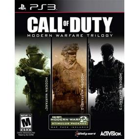 Cod Modern Warfare Ps3 Trilogy   Digital 3 Juegos Oferton!
