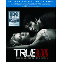 Blu-ray True Blood Season 2 / Temporada 2 / Blu Ray + Dvd