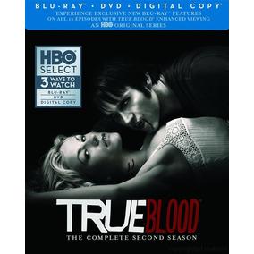 Blu-ray True Blood Season 2 / Temporada 2 / Blu Ray + Dvd