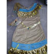 Disfraz Pocahontas Disney Store T -10 Princesa Disney Store