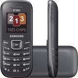 Celular Samsung Trip Chip Gt E1203 Orignal(lacre De Fábrica)