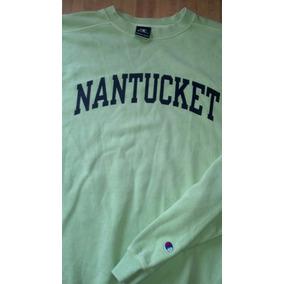 Sudadera Nantucket L Champion Color Pistache Nueva Wapisima