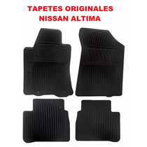 Tapetes Originales Nissan Altima Plastico, En Color Negro!