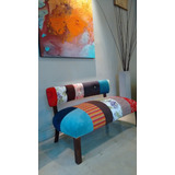 Sillon Matero Doble Patchwork Stock Sillones Muebles