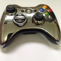 Controle Xbox 360 Cromado Original Importado Eua