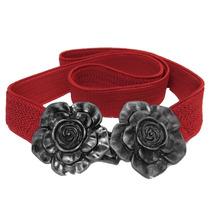 Cinto Elástico Fashion Flower Para Cintura Vestidos Blusas