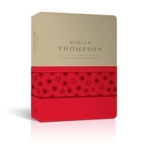 Bíblia De Estudo Thompson Capa Luxo Bicolor
