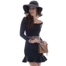 Vestido Básico Montaria - Kam Bess - Ve0716