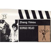 Sorgo Rojo Zhang Yimou Videocassette Vhs 1987 Cine De Arte