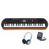 Teclado Casio Sa76 Teclas Niño Mini Piano Organo Auri Fuente