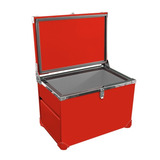 Caixa Termica Liga De Alumínio 70l + Eficiente Varias Cores