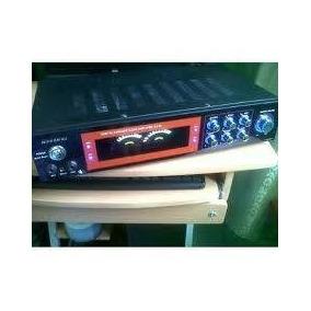 Amplificador Nippon Dj-90 Microfono Mp3 Usb Dvd Cd Como Nuev