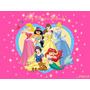 Painel De Decoração Festa 2x1 Princesas, Sininho E Outros