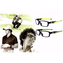 Armação Óculos De Grau - Masculina Esportiva Flexível