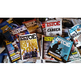Revistas Istoe Ano 2012.venda Por Und Ou Lote A Combinar Prç