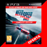 Need For Speed Rivals: Complete Edition Ps3