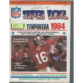 Futbol Americano Revista Superbowl Septiembre 1984