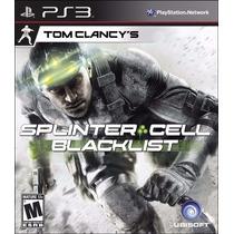 Splinter Cell Black List Ps3